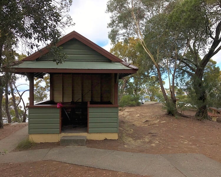 Picnic area at Sublime Point