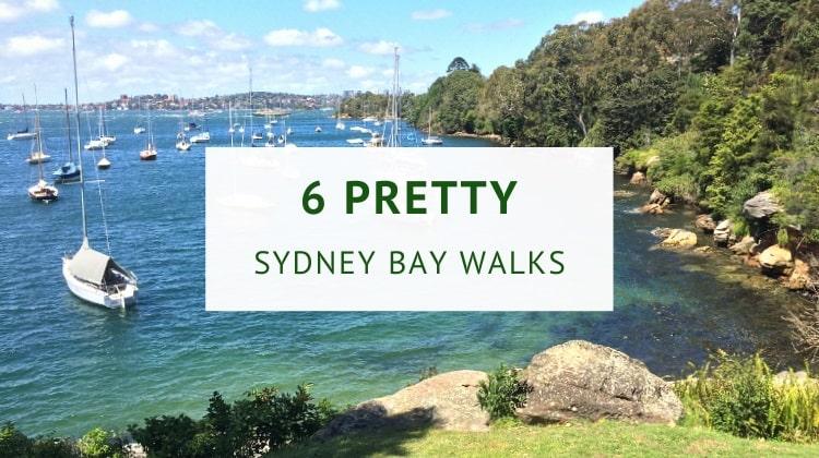 Bay walks in Sydney