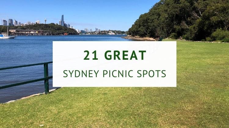 Sydney picnic spots