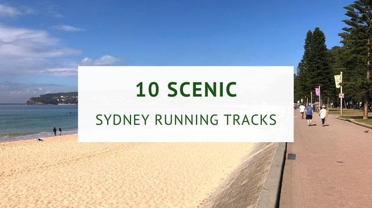Scenic running tracks in Sydney