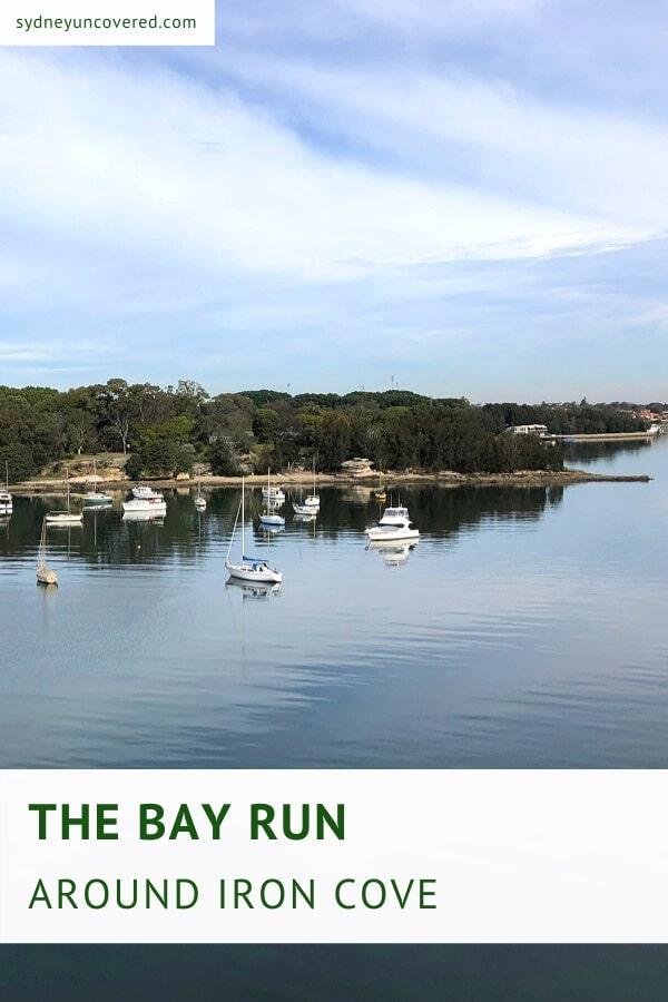 The Bay Run around Iron Cove in Sydney's west