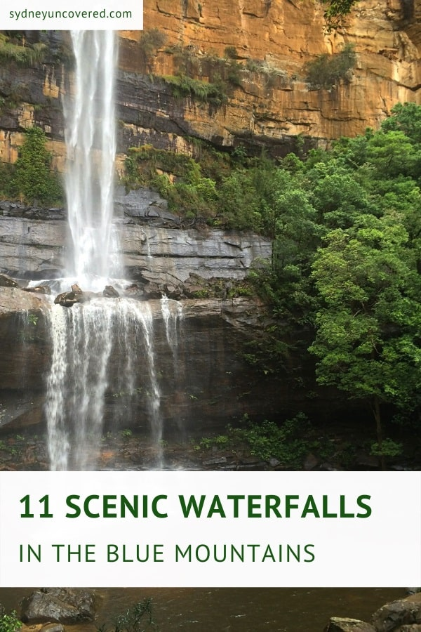 11 Scenic waterfalls in the Blue Mountains