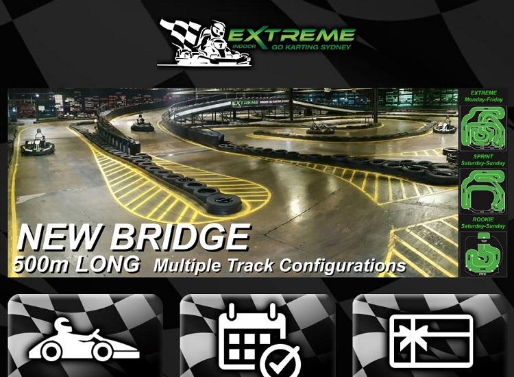 Extreme Indoor Go Karting in Villawood