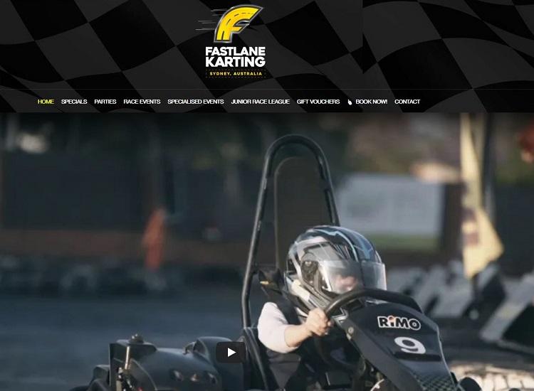 Fastlane Karting Sydney in Minto