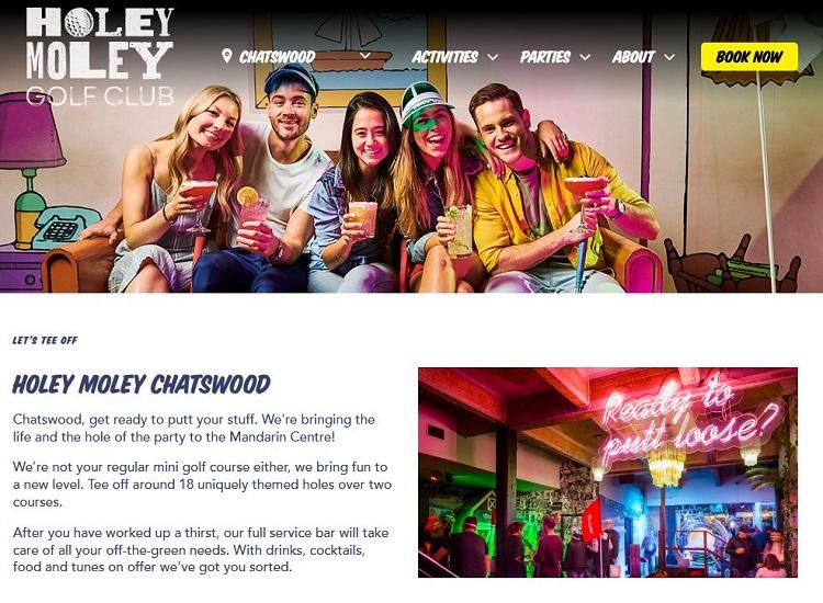 Holey Moley Chatswood