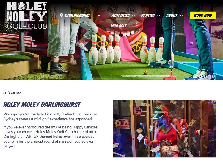 Holey Moley Darlinghurst