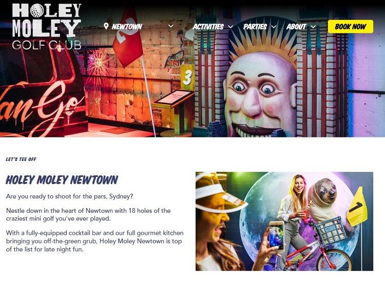 Holey Moley Newtown