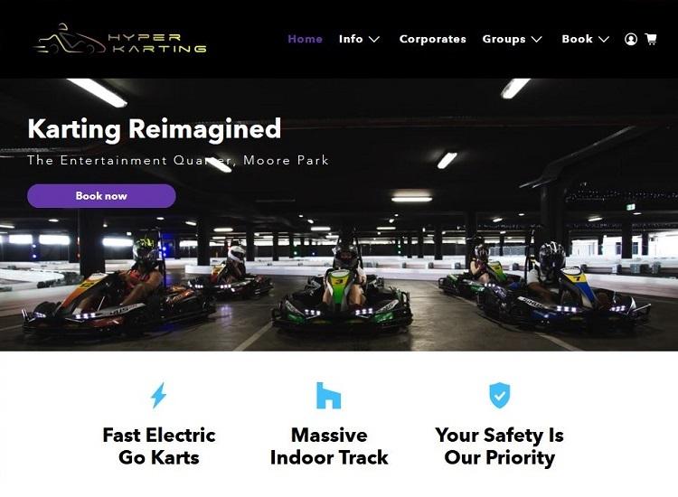 Hyper Karting in Moore Park