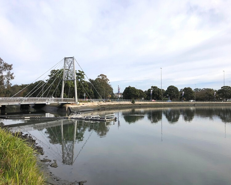 Iron Cove Creek pedestrian bridge