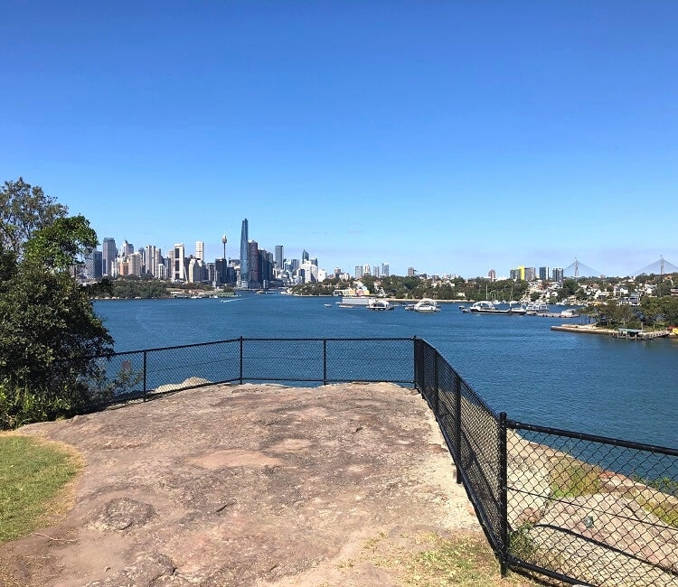 Manns Point Lookout in Greenwich