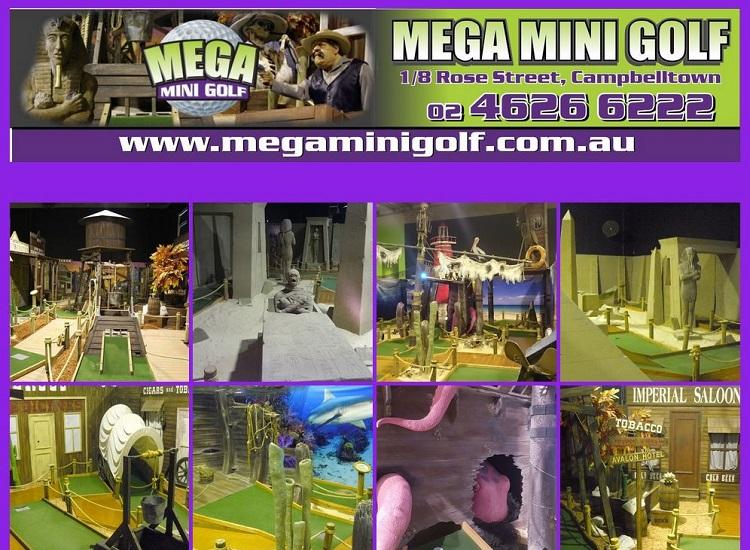 Mega Mini Golf in Campbelltown