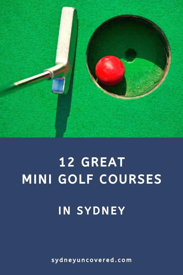 Best mini golf courses in Sydney