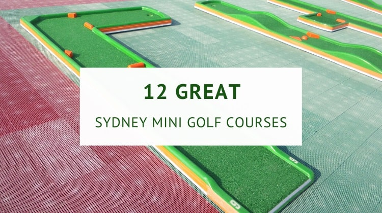 Sydney mini golf courses
