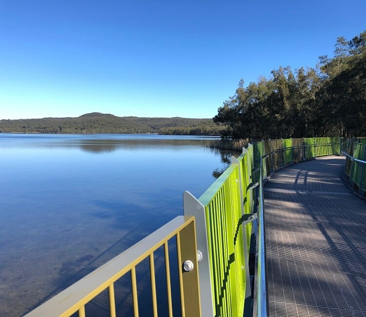 Boardwalk at Bilarong Reserve