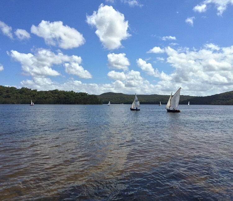 Beautiful Narrabeen Lakes
