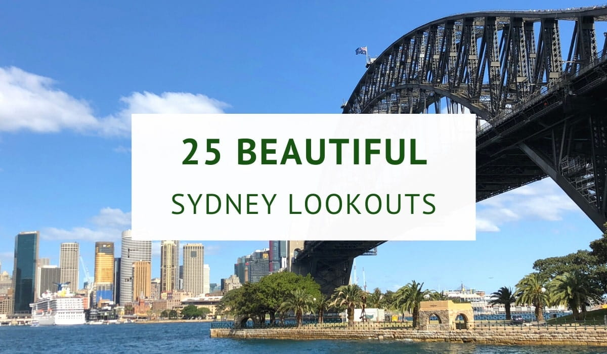Best Sydney lookouts with scenic views