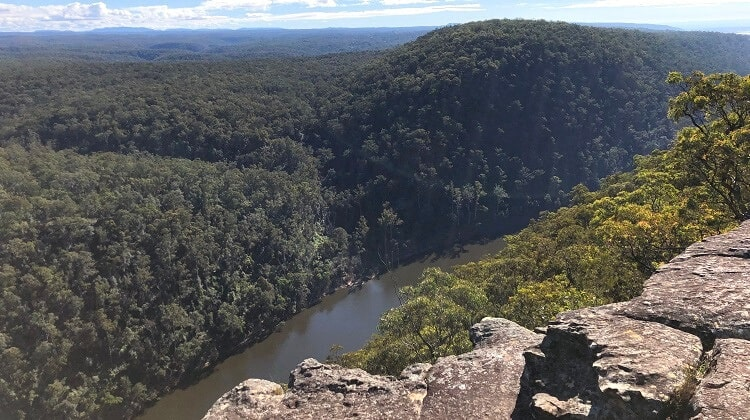 The Rock Lookout in Mulgoa
