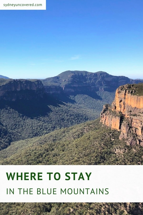 Find the best hotels in the Blue Mountains