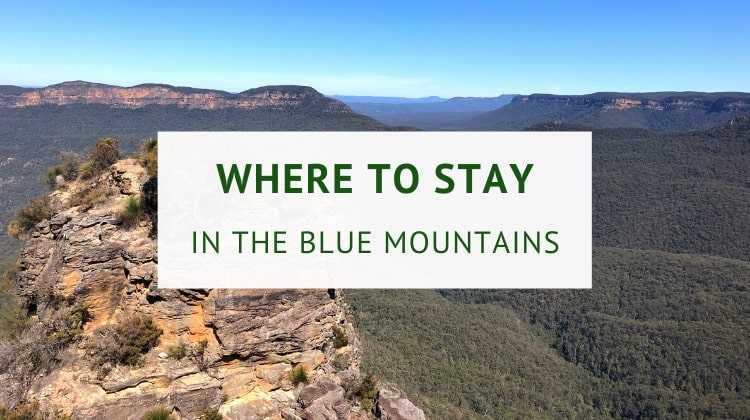 Where to stay in the Blue Mountains