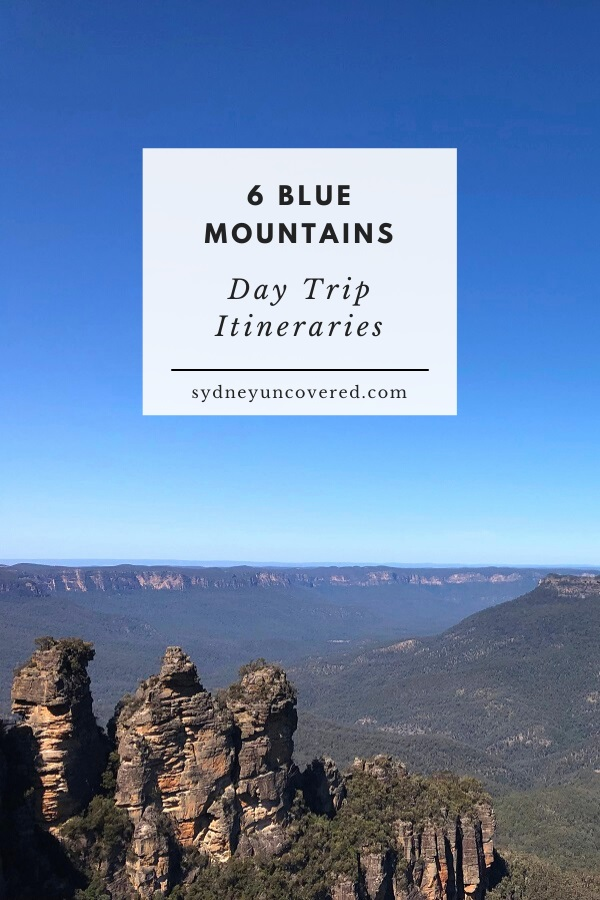 6 Blue Mountains day trip itineraries