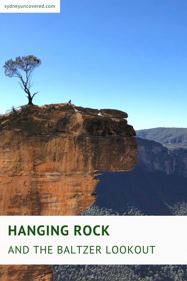 Hanging Rock and the Baltzer Lookout