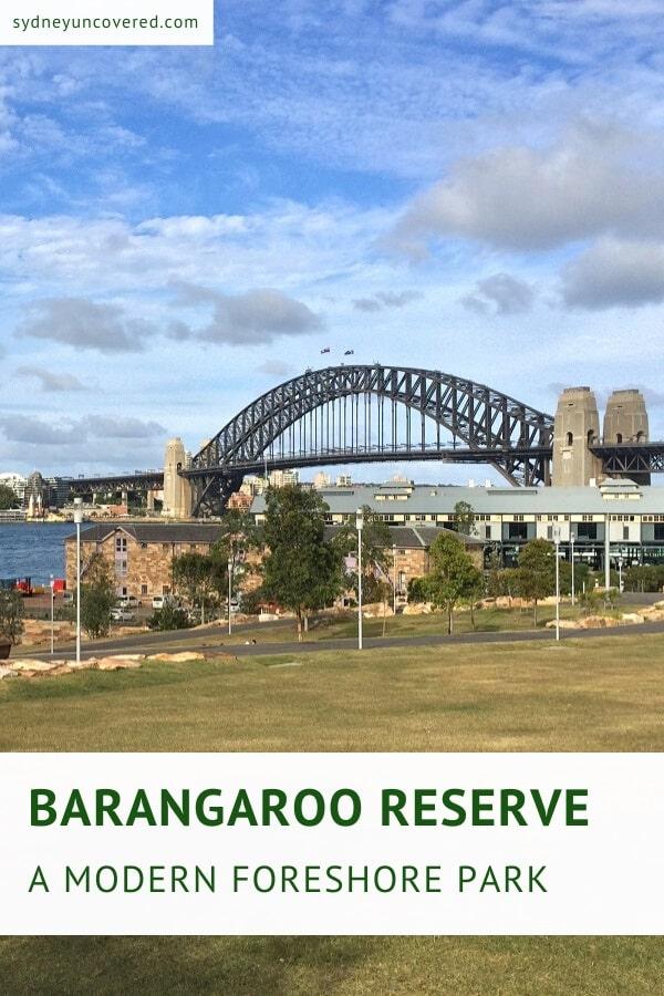 Barangaroo Reserve in Sydney