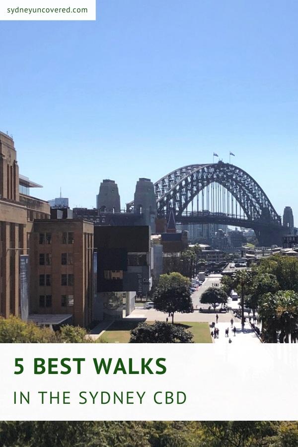 5 Best walks in the Sydney city CBD