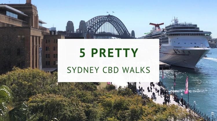 Sydney city walks