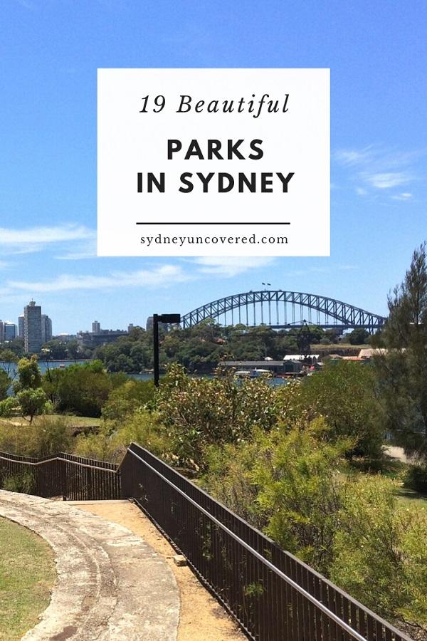 19 Beautiful Sydney parks