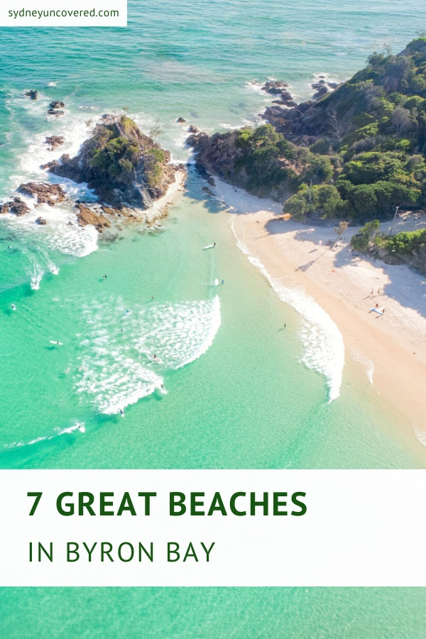 7 Great beaches in Byron Bay
