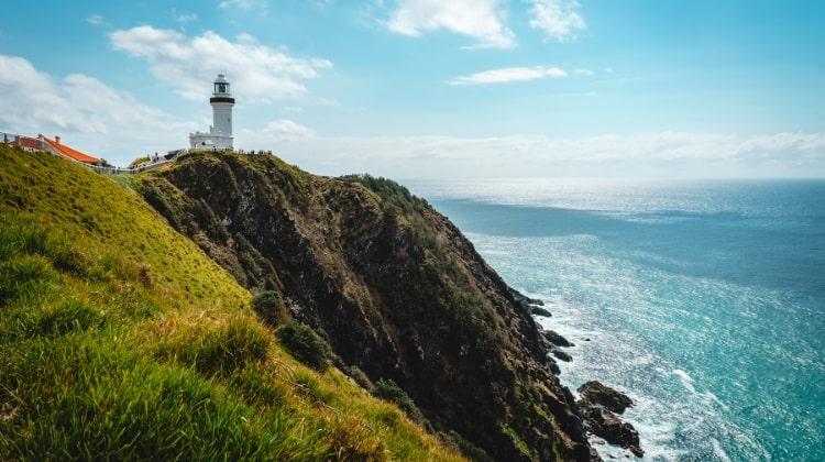 Byron Bay lighthouse walk around Cape Byron
