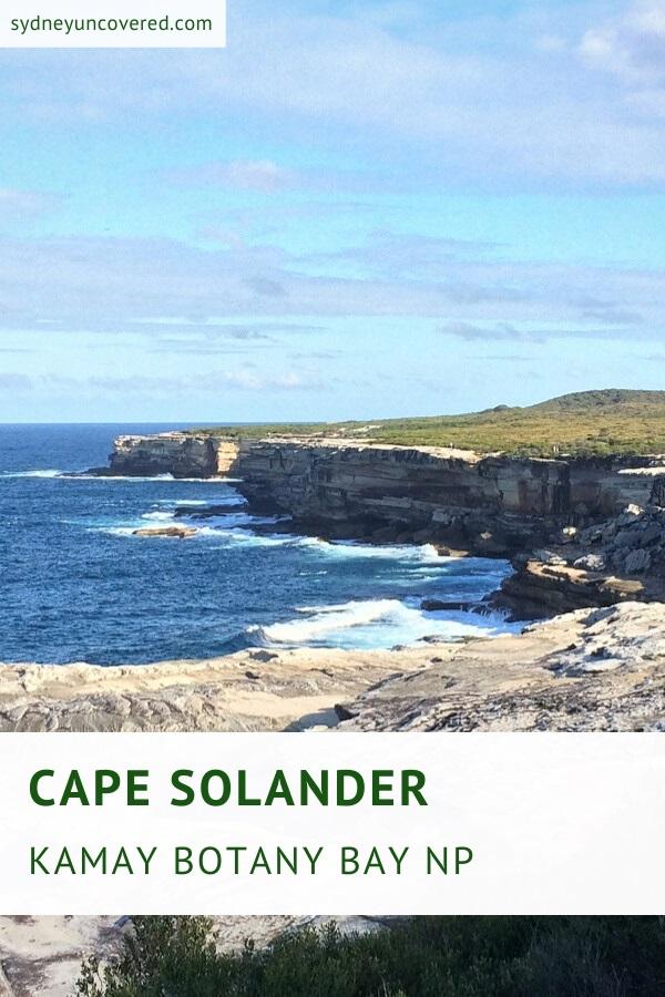Cape Solander Lookout in Kamay Botany Bay National Park