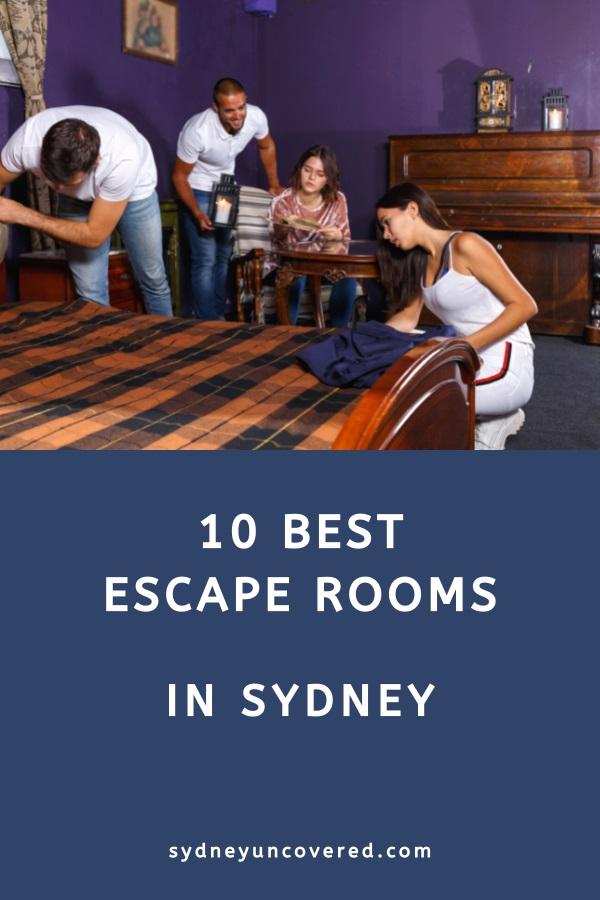 10 Best Sydney escape rooms
