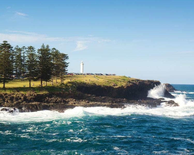 Kiama in the Illawarra region of New South Wales