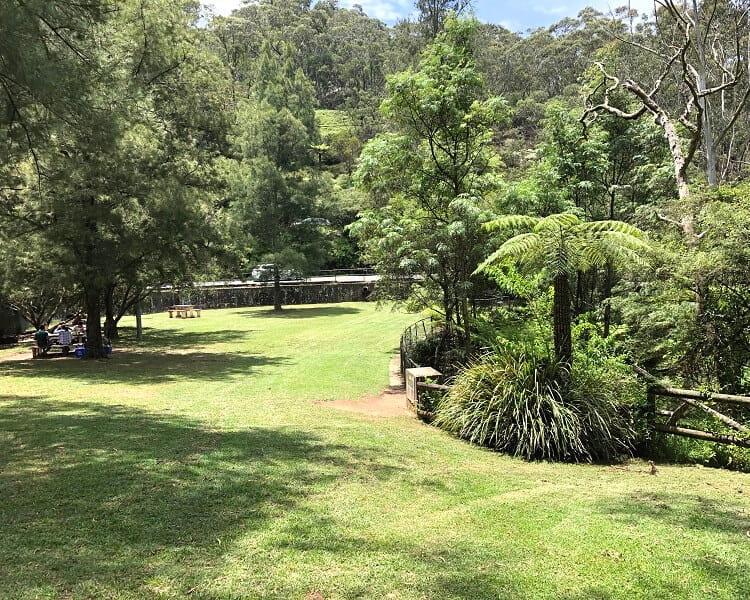 Leura Cascades picnic area