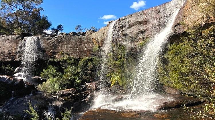 Maddens Falls in Dharawal National Park