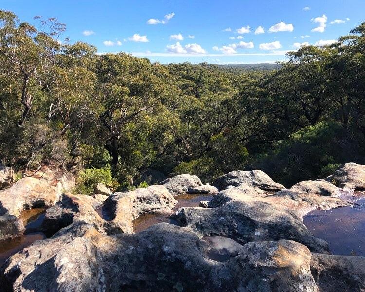 Top of Maddens Falls