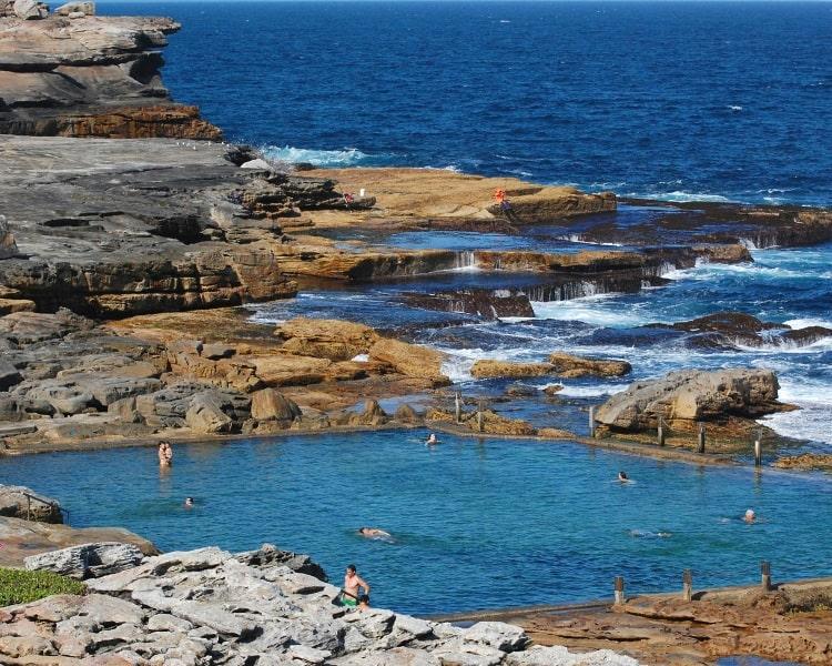 Mahon Pool in Maroubra