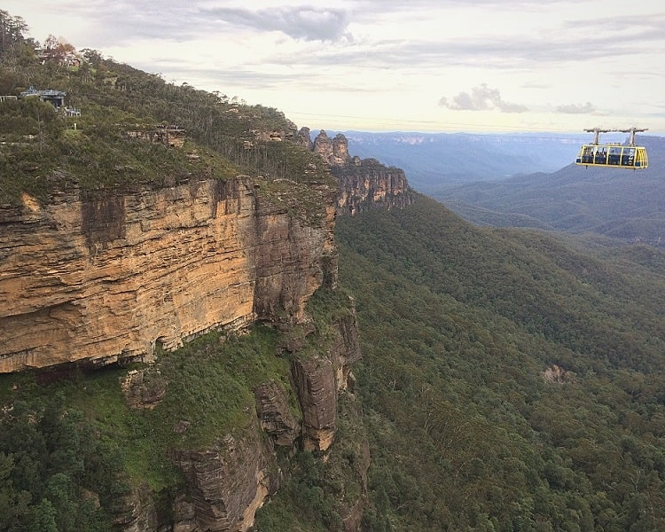 Scenic Skyway and the Three Sisters